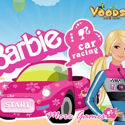 barbie car games free online game